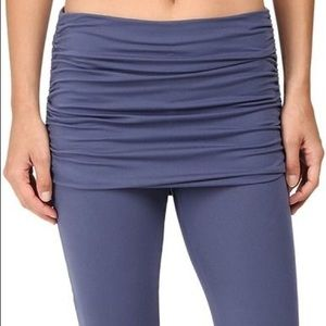 Prana Remy Cropped Skirted Leggings in Violet